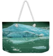 Magnificent Sawyer Glacier At The Tip Of Tracy Arm Fjord Weekender Tote Bag