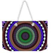 Mandala Ornament Weekender Tote Bag