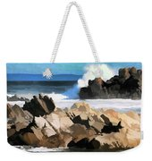 17 Mile Drive Pacific Ocean  Weekender Tote Bag