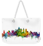 Philadelphia Pennsylvania Skyline Weekender Tote Bag