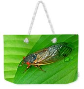 17 Year Periodical Cicada Weekender Tote Bag