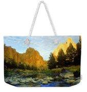 Landscape Nature Drawing Weekender Tote Bag