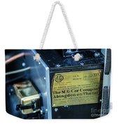 1743.045 Plate1930 Mg Weekender Tote Bag