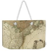 1783 United States Of America Map Weekender Tote Bag