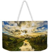Landscape Color Weekender Tote Bag