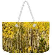 Rocky Mountain Autumn Weekender Tote Bag