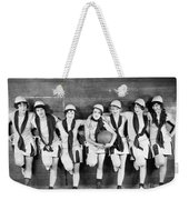 Silent Film Still: Sports Weekender Tote Bag