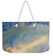 18. V1 Blue, Green, And Brown Glaze Painting Weekender Tote Bag