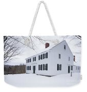 1800 White Colonial Home Weekender Tote Bag
