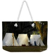 1800s Army Tents Weekender Tote Bag