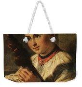 1820- Vasily Tropinin Weekender Tote Bag