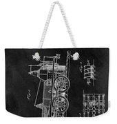 1845 Railroad Patent Weekender Tote Bag