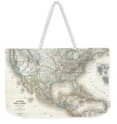 1858 Dufour Map Of The United States  Weekender Tote Bag