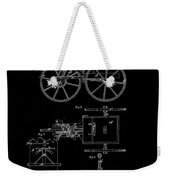 1871 Hand Carriage Patent Drawing Weekender Tote Bag