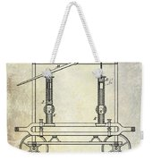 1875 Fire Extinguisher Patent Weekender Tote Bag