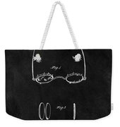 1875 Spectacles Patent Weekender Tote Bag
