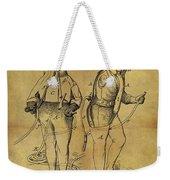 1876 Fireman's Suit Weekender Tote Bag