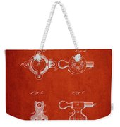 1879 Exercise Machine Patent Spbb08_vr Weekender Tote Bag
