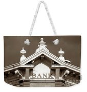 1880 Bank Weekender Tote Bag
