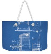 1883 Beer Faucet Design Weekender Tote Bag
