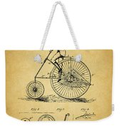1883 Bicycle Weekender Tote Bag