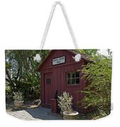 1883 Little Red Schoolhouse Weekender Tote Bag