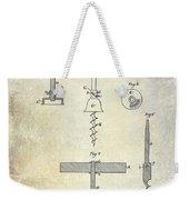 1884 Corkscrew Patent Weekender Tote Bag
