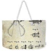 1886 Caliper And Dividers Patent Weekender Tote Bag