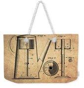 1889 Coffee Maker Patent Weekender Tote Bag