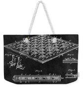 1896 Chessboard Patent Weekender Tote Bag