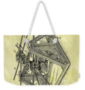 1896 Oil Rig Illustration Weekender Tote Bag