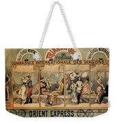 1896 Orient Express Musical Revue Paris Weekender Tote Bag
