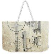 1897 Banjo Patent Weekender Tote Bag