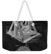 1897 Oil Well Rig Patent Design Weekender Tote Bag