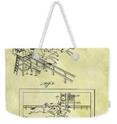 1899 Horse Racing Track Patent Weekender Tote Bag