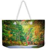 Autumn Season On Blue Ridge Parkway Weekender Tote Bag