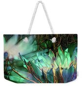 Jeweled Water Lilies Weekender Tote Bag