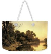 Johnstone Henry James A Backwater Of The River Murray South Australia Henry James Johnstone Weekender Tote Bag