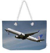 United Airlines Boeing 757-224 Weekender Tote Bag