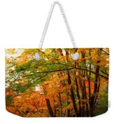 Nature Landscape Oil Weekender Tote Bag