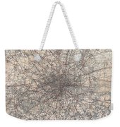 1900 Gall And Inglis' Map Of London And Environs Weekender Tote Bag