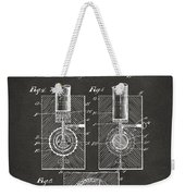 1902 Golf Ball Patent Artwork - Gray Weekender Tote Bag