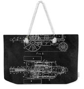 1903 Tractor Blueprint Patent Weekender Tote Bag