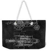 1903 Tractor Blueprint Patent Weekender Tote Bag