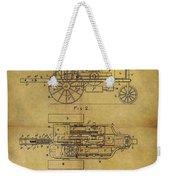 1903 Tractor Patent Weekender Tote Bag