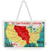 1904 Louisiana Purchase Exposition Weekender Tote Bag