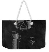 1905 Drum Patent Illustration Weekender Tote Bag