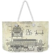 1905 Fire Apparatus Weekender Tote Bag