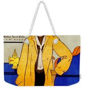 1906 Automobile Calender Weekender Tote Bag