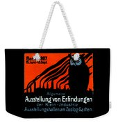 1907 Berlin Exposition Poster Weekender Tote Bag